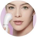 Braun Face 810 συσκευή αποτρίχωσης με βουρτσάκι καθαρισμού Για το πρόσωπο