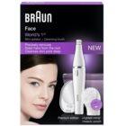 Braun Face  830 Epilator cu perie de curățare fata