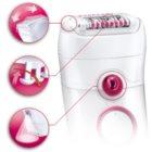 Braun Silk épil 5 5-329 Epilierer mit Gesichtsreinigungsaufsatz