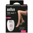 Braun Silk épil 1-1170 epilatore