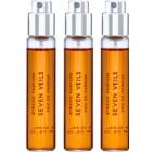 Byredo Seven Veils eau de parfum mixte 3 x 12 ml (3x recharge avec vaporisateur)