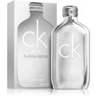 Calvin Klein CK One Platinum Edition toaletní voda unisex 200 ml