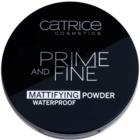 Catrice Prime And Fine mattító púder