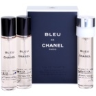 Chanel Bleu de Chanel toaletná voda pre mužov 3 x 20 ml náplň