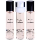 Chanel Bleu de Chanel woda toaletowa dla mężczyzn 3 x 20 ml uzupełnienie