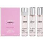 Chanel Chance Eau Tendre toaletna voda za ženske 3x20 ml (3x polnilo)