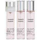 Chanel Chance Eau Tendre woda toaletowa dla kobiet 3x20 ml (3 x napełnienie)