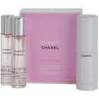 Chanel Chance Eau Tendre Eau de Toilette for Women 3 x 20 ml (1x Refillable + 2x Refill)