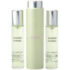 Chanel Chance Eau Fraîche toaletní voda pro ženy 3x20 ml (1x plnitelná + 2x náplň)