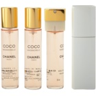 Chanel Coco Mademoiselle toaletná voda pre ženy 3x20 ml (1x plniteľná + 2x náplň)