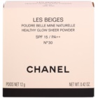 Chanel Les Beiges прозора пудра SPF 15