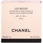Chanel Les Beiges transparentny puder SPF 15