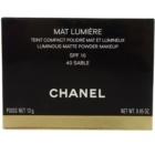 Chanel Mat Lumière Compact világosító púder