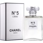 Chanel N°5 L'Eau Eau de Toilette für Damen 100 ml