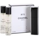 Chanel N°5 Eau Première Eau de Parfum Damen 3 x 20 ml (1x Nachfüllbar + 2x Nachfüllung)