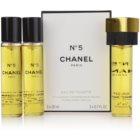 Chanel N°5 woda toaletowa dla kobiet 3 x 20 ml pakiet podróżny