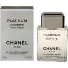 Chanel Égoïste Platinum After Shave Lotion for Men 75 ml