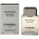 Chanel Égoïste Platinum voda po holení pre mužov 75 ml