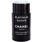 Chanel Égoïste Platinum deostick pro muže 75 ml