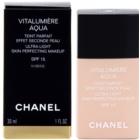 Chanel Vitalumière Aqua ультра легкий тональний крем для сяючого вигляду шкіри