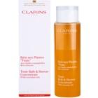 Clarins Body Age Control & Firming Care sprchový a kúpeľový gél s esenciálnymi olejmi