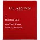 Clarins Face Make-Up Bronzing Duo mineralny puder brązujący