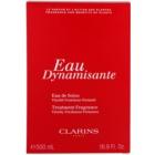 Clarins Eau Dynamisante frissítő víz unisex 500 ml töltelék