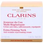 Clarins Extra-Firming zpevňující protivráskový krém na krk a dekolt