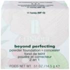 Clinique Beyond Perfecting pudrový make-up s korektorem 2 v 1