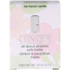 Clinique All About Shadow Soft Matte Lidschatten