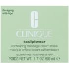 Clinique Sculptwear kontúrozó masszírozó maszk