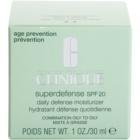 Clinique Superdefense denní hydratační a ochranný krém pro mastnou a smíšenou pleť