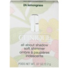 Clinique All About Shadow Soft Shimmer očné tiene