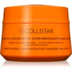 Collistar Sun No Protection konzentrierte Salbe zum Bräunen ohne Schutzfaktor