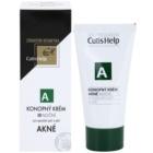 CutisHelp Health Care A - Akné konopný noční krém pro problematickou pleť, akné