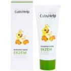 CutisHelp Mimi crema de día de cáñamo contra los síntomas del eczema para bebé lactante