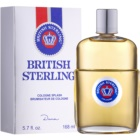 Dana British Sterling Eau de Cologne para homens 168 ml