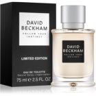David Beckham Follow Your Instinct eau de toilette pour homme 75 ml