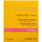 Decléor Harmonie Calm Könnyű, enyhítő krém az érzékeny arcbőrre