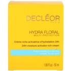 Decléor Hydra Floral bogaty krem nawilżający do cery normalnej i suchej