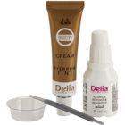 Delia Cosmetics Cameleo profesionálna krémová farba na obočie bez amoniaku
