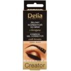 Delia Cosmetics Creator gel na obočí 4 v 1