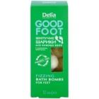 Delia Cosmetics Good Foot šumivé gule do kúpeľa na nohy