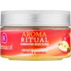 Dermacol Aroma Ritual peeling para corpo com efeito de aquecimento