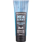Dermacol Men Agent Gentleman Touch Shower Gel 3 In 1
