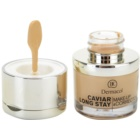 Dermacol Caviar Long Stay dolgoobstojni tekoči puder z izvlečki kaviarja in izpopolnjevalni korektor