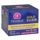Dermacol Gold Elixir crema de día rejuvenecedora  con caviar