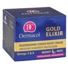 Dermacol Gold Elixir nočna pomlajevalna krema s kaviarjem
