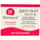 Dermacol Dry Skin Program Queen Night Cream festigende Nachtcreme für trockene bis sehr trockene Haut