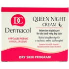 Dermacol Dry Skin Program Queen Night Cream nočná spevňujúca starostlivosť pre suchú až veľmi suchú pleť